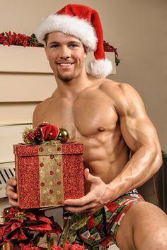 men black christmas naked