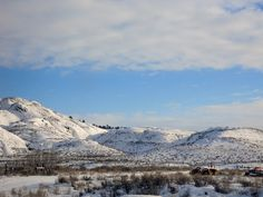 Montana in the winter is beautiful! Photos by Beach Kowgirl