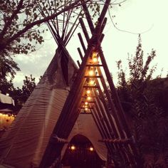 el cosmico - tepees to stay in!