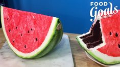 This Giant Watermelon Slice is Actually a Cake | Food Network