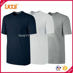 Wholesale Suppliers Chinese Custom T Shirt Short Sleeve 100% cotton Mens t-shirt with pocket