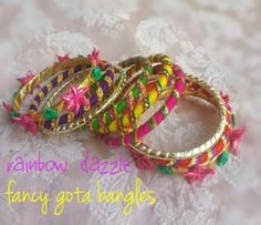 Gota bangles