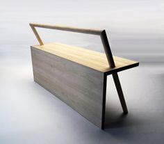 Outdoor bench by Kana Nakanishi