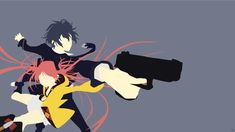 Satomi/Enju (Black Bullet) Minimalism by greenmapple17.deviantart.com on @DeviantArt