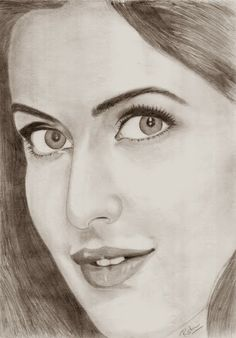 how is this #sketch ?? #Katrina :) #Caricatures #Sketches.