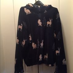 Fleeced Hooded Jacket Very warm & well taken care of. St. John's Bay Jackets & Coats