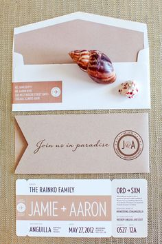 Love this save the date from madebykara.com