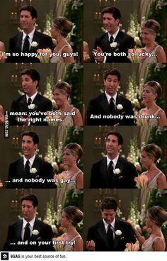 I can hear Ross saying this as I read it LMAO! | See more about friend humor, sayings and friends.
