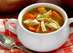 Paleo Turkey & Vegetable Soup Recipe
