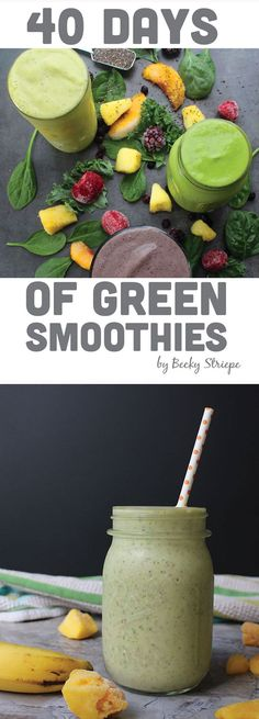 Is your morning breakfast in a rut? 40 Days of Green Smoothies makes breakfast easy and healthy!