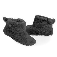 Women's ComfortSoft Slouch Bootie Slippers (5-6, Black) Isotoner. $18.95
