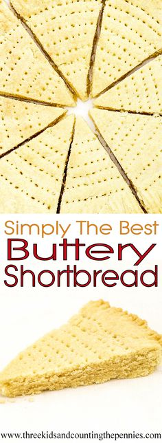 Recipes don't come easier than this! Using just the most basic of store cupboard ingredients you can create delicious, buttery, melt-in-the-mouth shortbread.