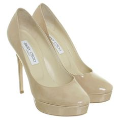 Jimmy Choo Pumps aus Lackleder