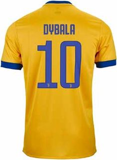 956a3a54914 2018 adidas Juventus Paulo Dybala Away Jersey. Buy it from SoccerPro now. Juventus  Soccer