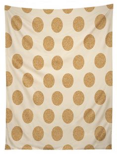 Gold Dots Tapestry |