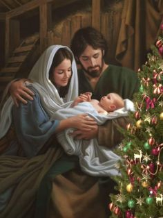 Merry Christmas Gif, Merry Christmas Pictures, Christmas Scenery, Christmas Nativity Scene, Christmas Quotes, Christmas Love, Christmas Greetings, Beautiful Christmas, Christmas Jesus