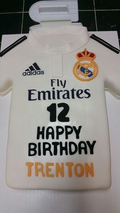Amy's Crazy Cakes -  Real Madrid Jersey Cake