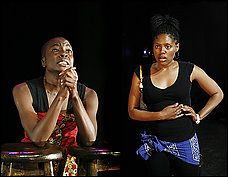 In the Continuum Play written by and starring Nikkole Salter and Danai Guirira