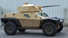 France's military vehicle (and once upon a time carmaker) Panhard has set out to change the way the weapons industry looks at a scout vehicles with their new three person armored buggy that can pack one hell of a punch. They call it the Crab, and like its namesake it can even move sideways.