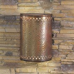 Hammered Copper Outdoor Light, Shades of Light.  Very cool for certain outdoor spaces (under covered porch) - casts upward & downward glow
