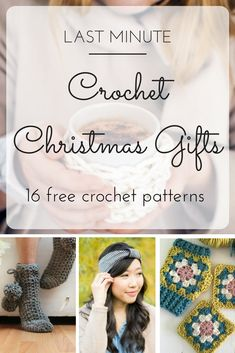 Last minute Christmas gifts to crochet - 16 FREE crochet patterns | a crochet pattern roundup at picotpals.com