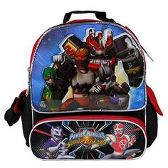 Disney Power Rangers 12 Toddler Backpack * More info could be found at the image url. Preschool Backpack, Toddler Backpack, Power Rangers Super Legends, Power Rangers Rpm, Best Kids Backpacks, Backpacker, Online Bags, Travel Style, Toddler Boys
