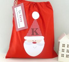 personalised christmas santa sack by tillie mint | notonthehighstreet.com