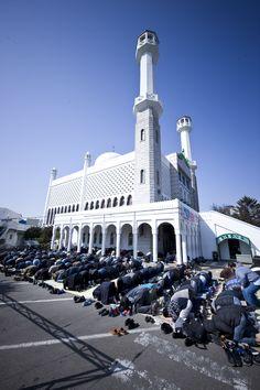 이태원, 이슬람교 서울 중앙성원. Islamic Mosque in Itaewon, Seoul