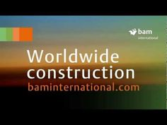 BAM International video of its global projects Tv, Youtube, Projects, Log Projects, Youtubers, Youtube Movies, Television Set