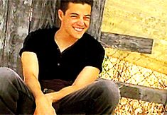 Happy Rami! He's not a very good actor, but his face is so sweet