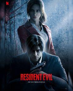 Resident Evil Franchise, Resident Evil Girl, Resident Evil Collection, Akira Anime, Leon S Kennedy, City Vector, Card Games, Netflix, Animation