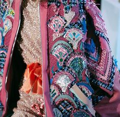 Close up of the jacket & embroidered dress available for pre-order on @151luwolt already this month! #robertaeiner