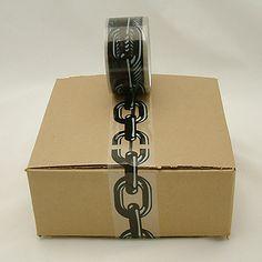 JVCC SLPT20 Designer Packaging Tape: Chain  www.bodegasmezquita.com