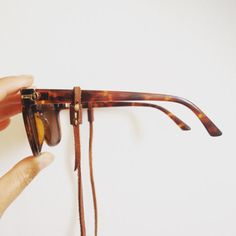 Leather Glasses Lanyard - string, necklace, eyeglasses, sunglasses, keeper, glasses chain
