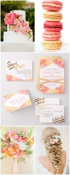 Summer Wedding inspiration! Invites by @weddingpaper