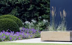 moderne Gartenarchitektur Düsseldorf - Hausgarten 1 - gartenplus - die gartenarchitekten