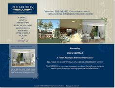 Community website design for The Farhills, Private Retirement Residence Letter Of Intent, Assisted Living, Design Agency, Service Design, Retirement, This Is Us, Floor Plans, Community, Lettering