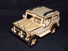 Safari Jeep Puzzle