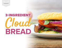 Yes -- this light and airy cloud bread is really gluten-free!