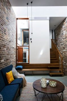 Walter Street Terrace by David Boyle Architects. Stair becomes bench seat :)