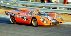 Kyalami South Africa, Porsche 917 K - Dick Attwood/John Love. Sports Car Racing, Road Racing, Race Cars, Auto Racing, Le Mans, Porsche Classic, Carrera, Ferrari, Porsche Motorsport