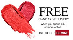 FREE Standard Delivery when you spend £40 or more online https://www.avon.uk.com/store/rosemarys-boutique