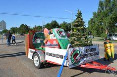 Operation Christmas Child Parade Float