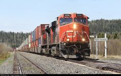 RailPictures.Net Photo: CN 2256 Canadian National Railway GE ES44DC at Ferland, Ontario, Canada by Chris Wilson