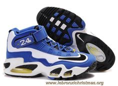 low priced 02c1a 039a8 Pas Cher Bleu Blanc Noir Nike Air Griffey Max 1 Nike Air Jordans, Nike Air