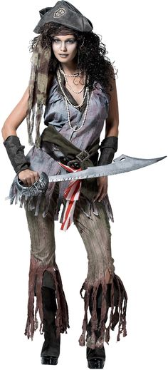 Shipwreck Sally Deluxe Costume - Pirate Costumes at Escapade™ UK - Escapade Fancy Dress on Twitter: @Escapade_UK