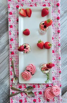 Eton Mess with Dark Chocolate Strawberry Meringue Roses