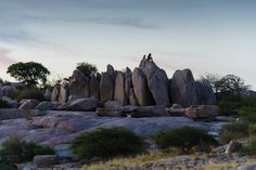Kubu Island, Botswana, Africa, Makgadikgadi Mount Rushmore, Africa, Island, Mountains, Holiday, Nature, Travel, Scenery, Vacations