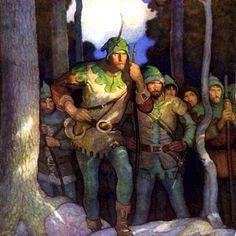 N. C. Wyeth, Robin Hood