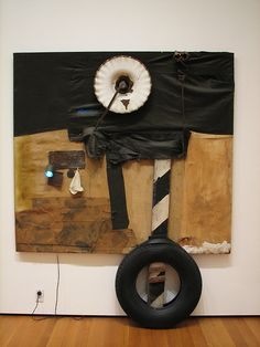 Robert Rauschenberg, mixed media combine
